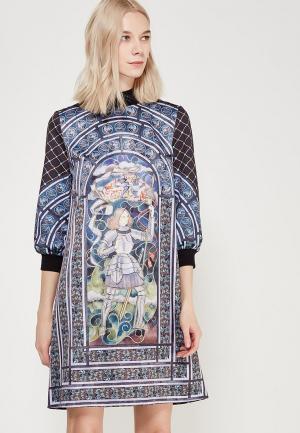Платье Ksenia Knyazeva. Цвет: разноцветный