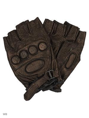 Перчатки UFUS. Цвет: черный, терракотовый
