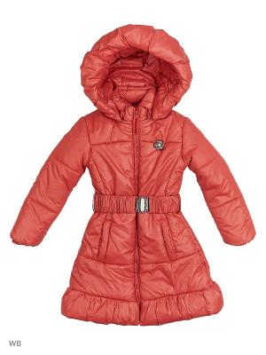 Пальто Senso kids. Цвет: красный