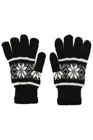 Перчатки MITYA VESELKOV. Цвет: черный