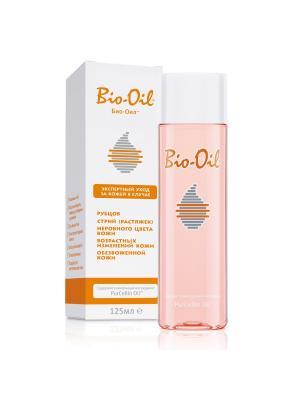 Масло косметическое от шрамов, растяжек, неровного тона, 125мл Bio-Oil. Цвет: прозрачный
