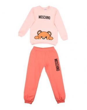 Спортивный костюм MOSCHINO BABY. Цвет: розовый