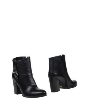 Полусапоги и высокие ботинки FABRIZIO CHINI. Цвет: черный