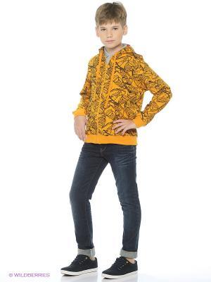 Куртка Cherubino. Цвет: горчичный