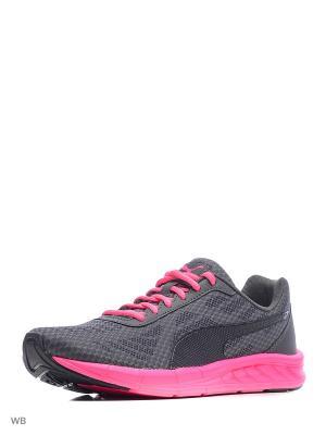 Кроссовки Meteor Wn s Puma. Цвет: черный, розовый