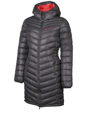 Пальто Alpine PRO. Цвет: темно-серый
