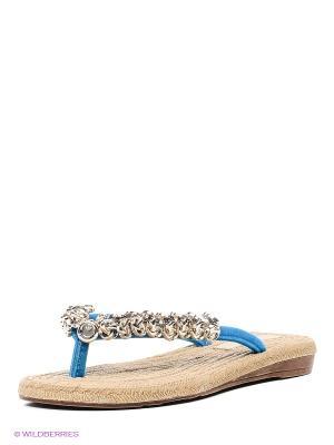 Шлепанцы RELAX MODE. Цвет: голубой