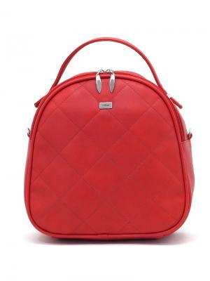 Рюкзак Solo true bags. Цвет: красный
