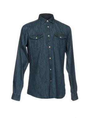 Джинсовая рубашка ORIGINALS by JACK & JONES. Цвет: синий