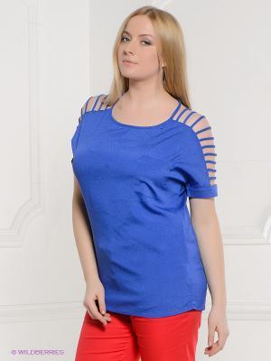 Блузка Acasta. Цвет: синий