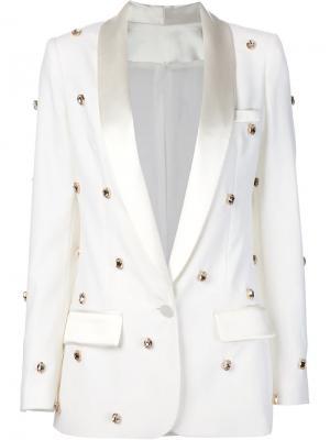 Пиджак-смокинг Soho Racil. Цвет: белый