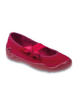 Балетки Befado. Цвет: красный