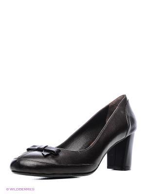Туфли Atiker. Цвет: темно-коричневый