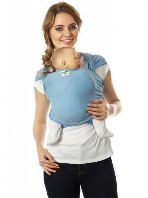 Слинг-шарф трикотажный Скай Mum`s Era. Цвет: голубой