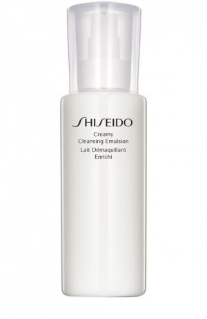 Очищающая эмульсия с кремовой текстурой Shiseido. Цвет: бесцветный