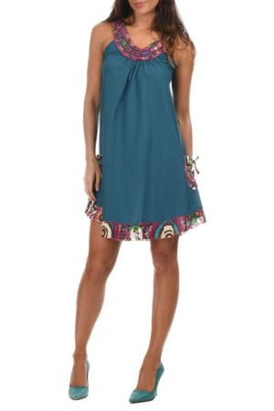 Платье Aller Simplement. Цвет: синий