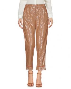 Повседневные брюки SOHO DE LUXE. Цвет: светло-коричневый