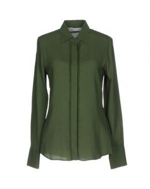 Pубашка CALIBAN. Цвет: зеленый-милитари