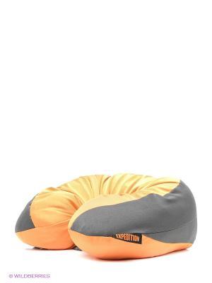 Подушка-подголовник с карабином Аристохрап Экспедиция. Цвет: оранжевый