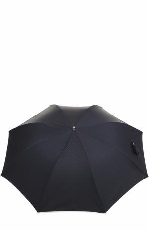 Складной зонт Ermenegildo Zegna. Цвет: темно-синий