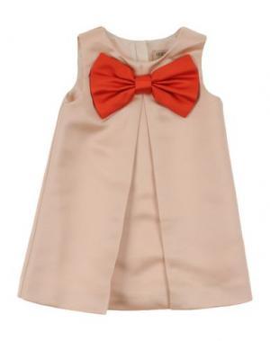 Платье HUCKLEBONES. Цвет: бежевый
