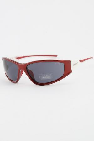 Очки солнцезащитные Esprit. Цвет: красный