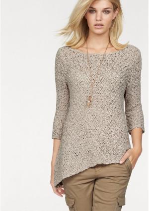 Пуловер Laura Scott. Цвет: бежевый