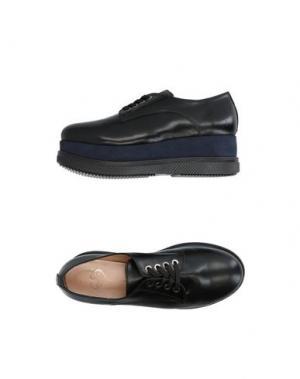 Обувь на шнурках HÉCOS. Цвет: синий