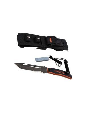Нож выживания Extreme, EXT-04 Экспедиция. Цвет: черный