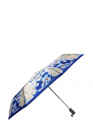 Зонт складной Eleganzza. Цвет: разноцветный