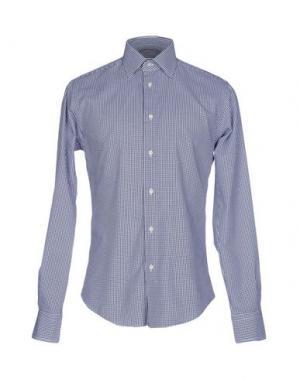 Pубашка BRIAN DALES. Цвет: темно-синий