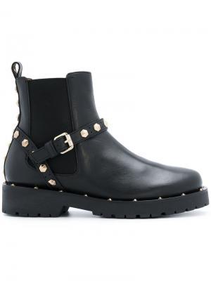 Ботинки-челси с отделкой заклепками Twin-Set. Цвет: чёрный