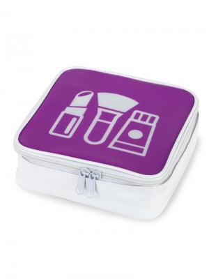 Косметичка Pop App Balvi. Цвет: фиолетовый, белый
