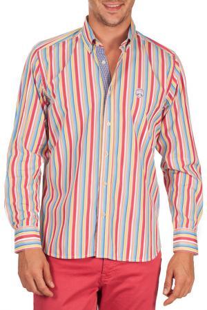 Рубашка Galvanni. Цвет: multicolor
