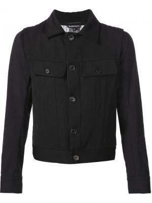 Пиджак с нагрудными карманами Ann Demeulemeester. Цвет: чёрный