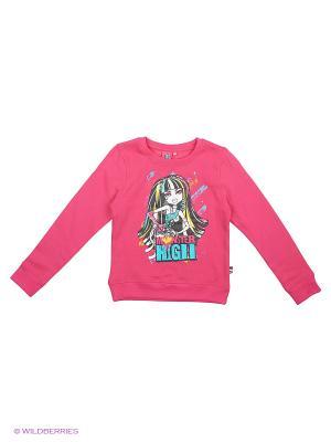 Свитшот Monster High. Цвет: розовый