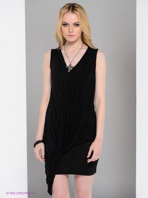 Платье Religion. Цвет: черный