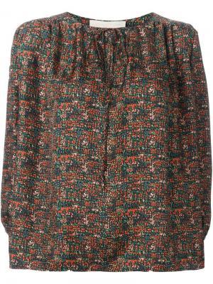 Блузка с узором Vanessa Bruno. Цвет: многоцветный