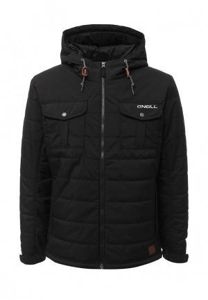 Куртка утепленная O`Neill. Цвет: черный