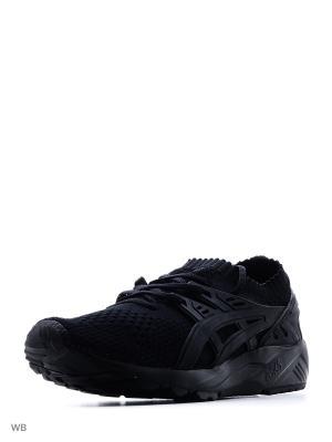 Спортивная обувь GEL-KAYANO TRAINER KNIT ASICSTIGER. Цвет: черный