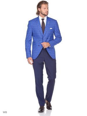 Пиджак BAWER. Цвет: лазурный