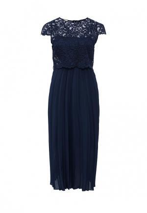 Платье Pinko. Цвет: синий
