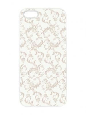 Чехол для iPhone 5/5s Гобелен Арт. IP5-202 Chocopony. Цвет: белый, светло-бежевый, темно-бежевый