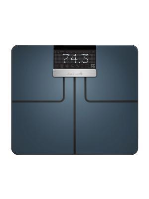 Index Black умные весы GARMIN. Цвет: черный