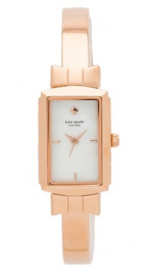 Часы с бантами и браслетом-бэнглом Kate Spade New York