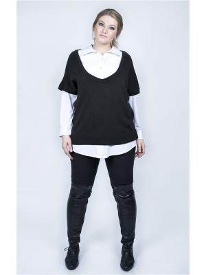 Пуловер SPARADA. Цвет: черный