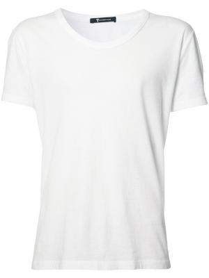 Базовая футболка T By Alexander Wang. Цвет: белый