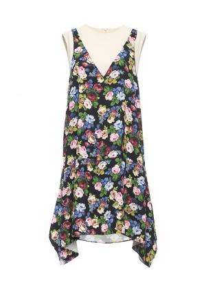 Платье Sportmax Code. Цвет: разноцветный