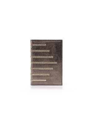 Бумажник водителя, САЛЕРНО Domenico Morelli cristalli. Цвет: бронзовый, золотистый