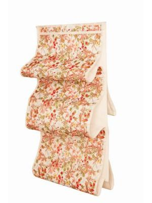 Чехол для сумок Цветы арт.ch109 Камея. Цвет: белый, розовый